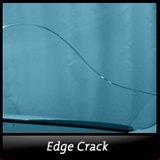 Edge Break Windshield Crack